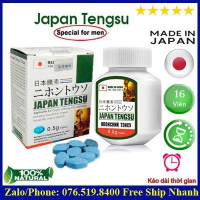 Thuốc Tengsu Japan Nhật Chính Hãng