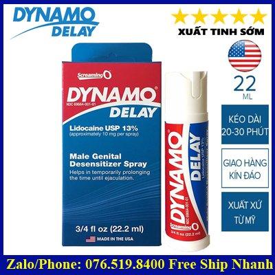 Thuốc kéo dài quan hệ Dynamo Delay USA