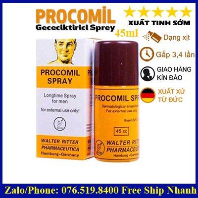 Thuốc xịt quan hệ lâu ra Procomil 45ml
